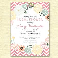 inexpensive bridal shower invitations template wedding shower invites template