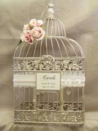 birdcages for wedding wedding card box chagne birdcage by southburytreasures