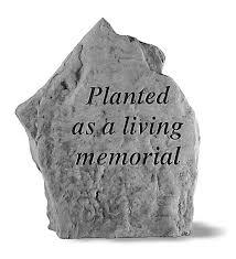 outdoor memorial plaques usa made cast living memorial plaque garden statuary