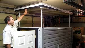 homebuilt pop up roof lift system youtube