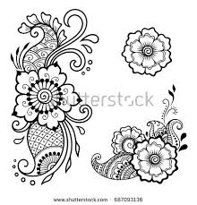 flower tattoo stock images royalty free images u0026 vectors