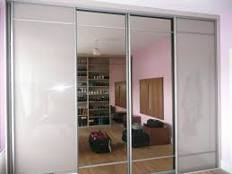 ideas for sliding glass doors soft brown glass doors with tinted mirror wardrobe ideas