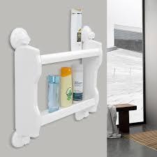 support tablette cuisine etagère de salle de bain cuisine fixation ventouse support tablette