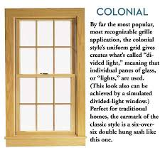Colonial Style Windows Inspiration Colonial Style Windows Inspiration Glazing Classic Colonial Window