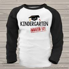 Pregnancy Shirts For Halloween by Personalized Kids Shirts Kindergarten Completion Graduation