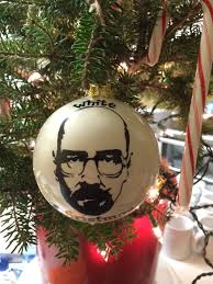 breaking bad ornament white walter