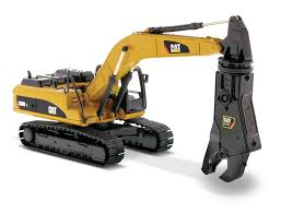 330d l hydraulic excavator with shear diecast masters