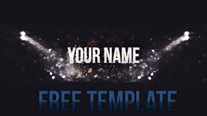 free youtube banner layout youtube banner layout free psd template youtube