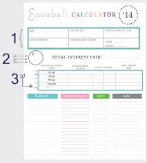 Spreadsheet For Paying Debt Best 25 Debt Snowball Calculator Ideas On Pay