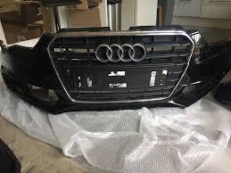 audi breakers wolverhton 2012 2015 audi a5 s line front bumper grill black facelift