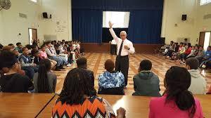 nasa administrator inspires students at john hanson montessori