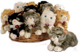 soft toys cats laying cat soft dolls house parade for