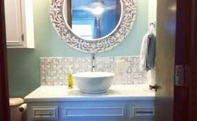 diy half bathroom redo hometalk