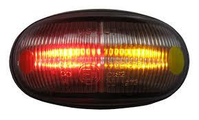 red led marker lights led surface mount side marker light red amber erde by wilstow ltd