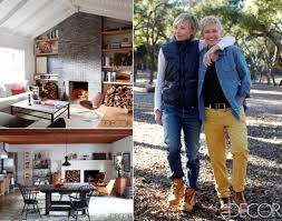 Home Decor Santa Monica Leave It To Ellen Degeneres And Portia De Rossi To Have A Vacation