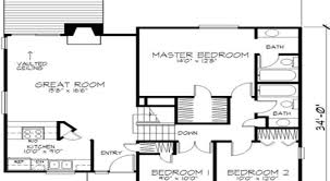 7 modern 2 story house floor plan modern 2 story house floor plan