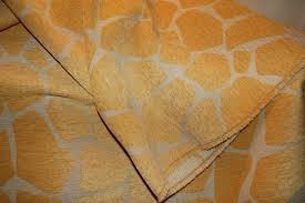 giraffe oro animal print upholstery fabric pinktique etsy homes