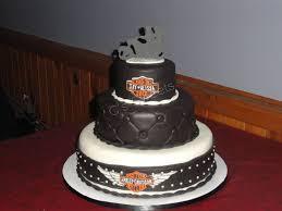 harley davidson wedding cake toppers harley wedding cake u2014 round