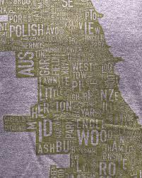Chicago Map Neighborhoods by Chicago Neighborhoods Unisex T Shirt