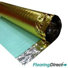 Gold Underlay For Laminate Flooring 30m 3mm Novostrat Comfort Gold Acoustic Underlay For Wood