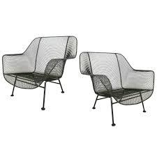 Vintage Woodard Patio Furniture Patterns by Pair Of Vintage 1950s U0027sculptura U0027 Garden Lounge Chairs By Russell
