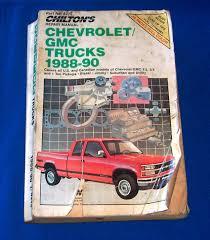 chilton repair manual chevy truck 100 images chevrolet gmc