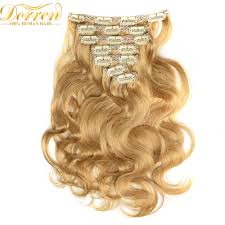 Clip In Blonde Hair Extensions by Online Get Cheap Honey Blonde Hair Colors Aliexpress Com