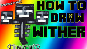 how to draw wither from minecraft youcandrawit ツ 1080p hd