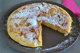 cuisine gateau aux pommes gâteau aux pommes à la poêle quand nad cuisine