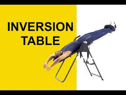 inversion table for herniated disc in neck inversion table spinal decompression therapy for sciatica