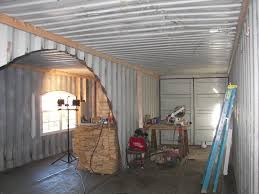 outstanding single shipping container homes interior pics