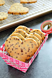 heart shaped chocolate heart shaped chocolate chip cookies about a