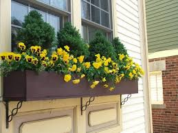 Wooden Window Flower Boxes - flower box arrangements u2013 summer window and balcony decor ideas