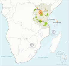 africa map islands east africa travel guide eastern travel information