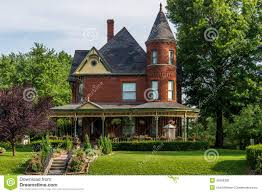 queen anne victorian home royalty free stock photography image