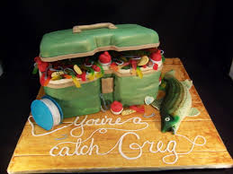 tackle box cake from the master u0027s baker gone fishing birthday