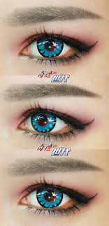 light blue cosplay contacts 14 50mm bella miracle cosplay contact lens light blue 25 99