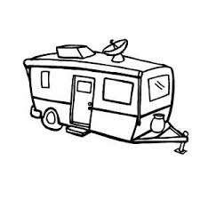 tractor trailer coloring pages bus terra wind rv coloring page skateboard coloring page dodge