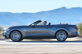 Black Mustang Gt Convertible For Sale 2015 Ford Mustang Convertible First Look Motor Trend