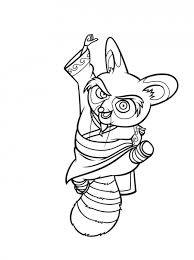 fun coloring pages kung fu panda coloring pages