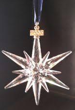 swarovski snowflake ornament 2005 ebay