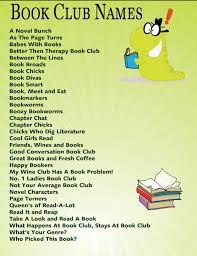 best 25 book club names ideas on books