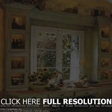 Valances For Bay Windows Inspiration Country Kitchen Window Treatments Home Interior Inspiration