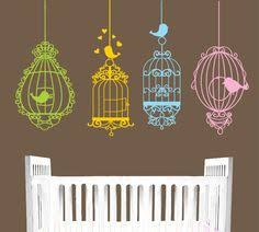 tree wall decal birds nature forest vinyl wall decals wall decal