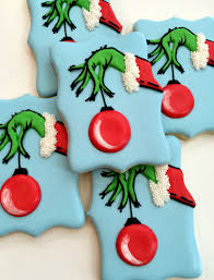 grinch christmas cookies cookies pinterest grinch christmas