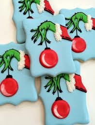 grinch christmas cookies cookies pinterest grinch christmas