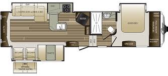 Carriage Rv Floor Plans by New Or Used Fifth Wheel Campers For Sale Rvs Near Burlington