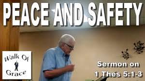 sermon on gratitude thanksgiving peace and safety sermon on 1 thessalonians 5 1 3 youtube