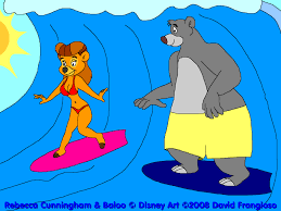 talespin surf u0027s up on talespin by tpirman1982 on deviantart