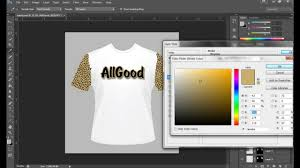 how to design a t shirt in photoshop youtube